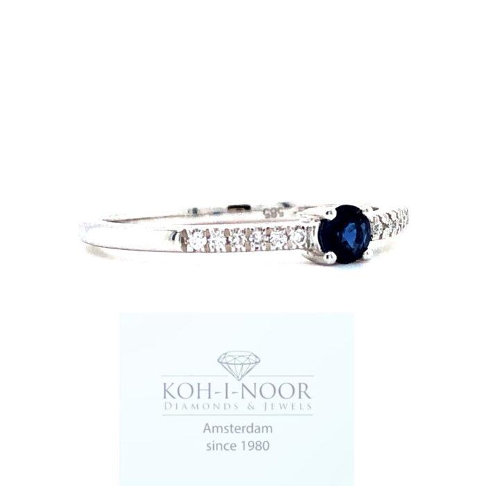 r9105-ka-14krt-wit-gouden-4poot-solitair-rij-ring-diamanten-saffieren__2
