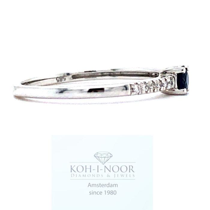 r9105-za-14krt-wit-gouden-4poot-solitair-rij-ring-diamanten-saffieren__