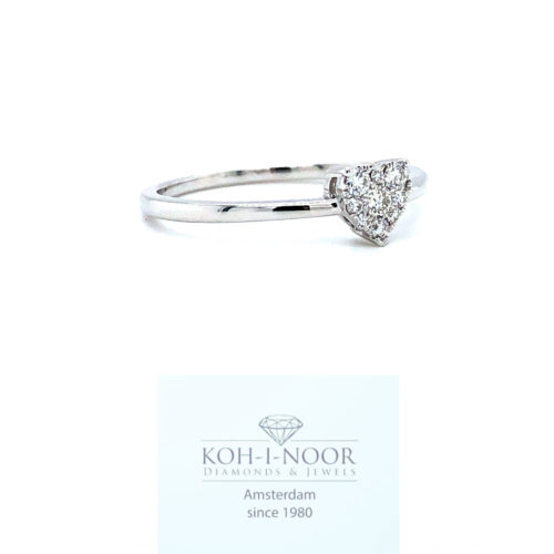 diamanten fantasie hartjes ring