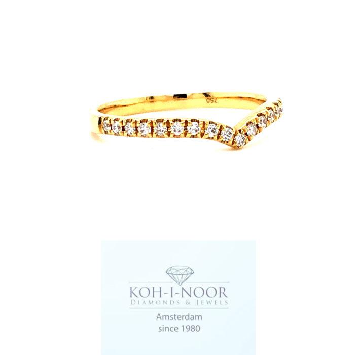 r9133-ka-18krt-geel-gouden-v-rij-ring-briljant-diamanten-19-0.17krt-twess-vs-630