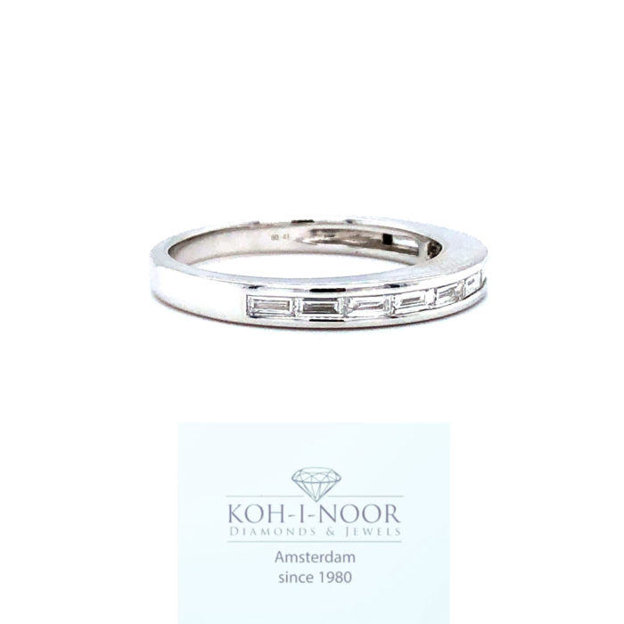 r7643-ka-18krt-wit-gouden-alliance-rail-ring-baquette-11-0.41krt-diamanten-twess-vs-17mt-53mt-3gr-1100