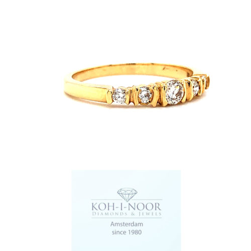 r8816-ka-14krt-geel-gouden-fantasie-rij-ring-briljant-1-0.11krt-4-0.18krt-diamanten-twess-vvs-985