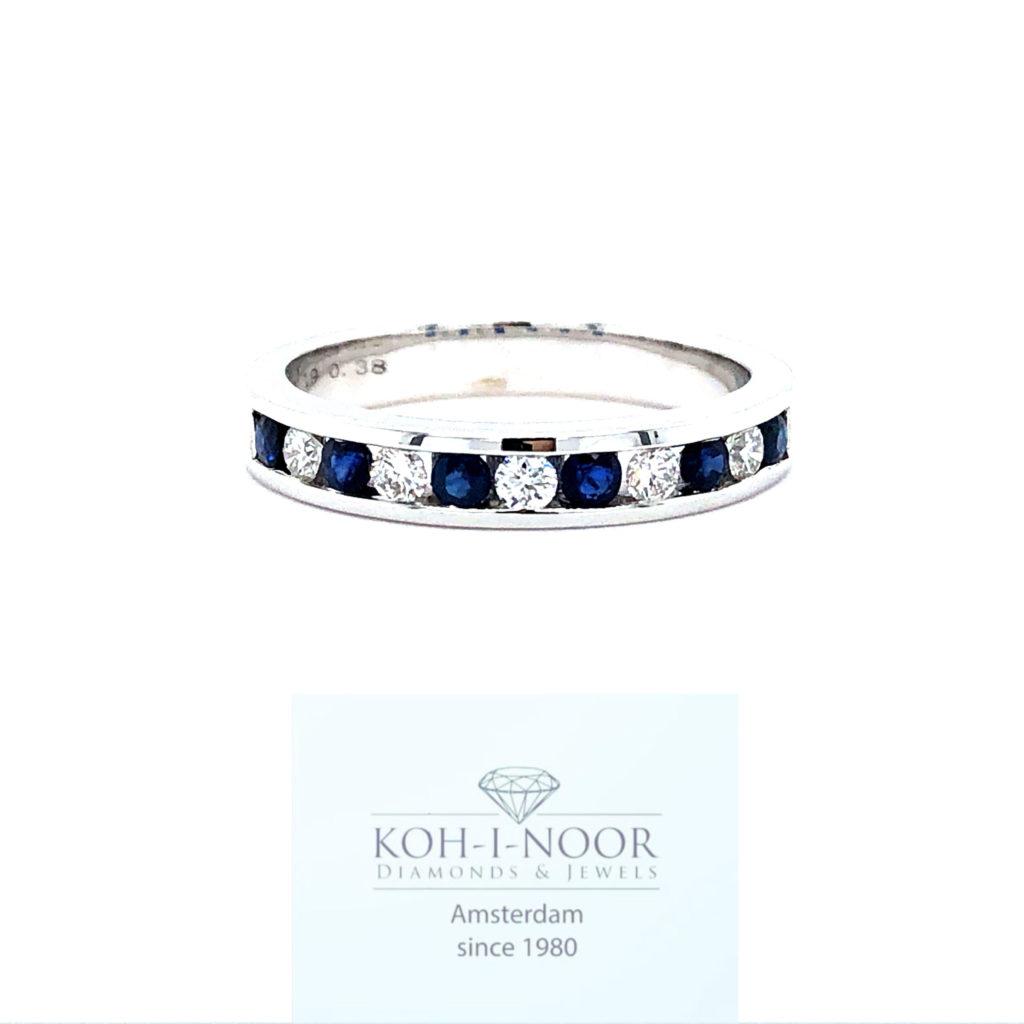 r8938-va-14krt-wit-gouden-rail-ring-briljant-5-0.19krt-diamanten-g-vs1-6-0.38krt-saffieren-16.75mt-53mt-3gr-950_